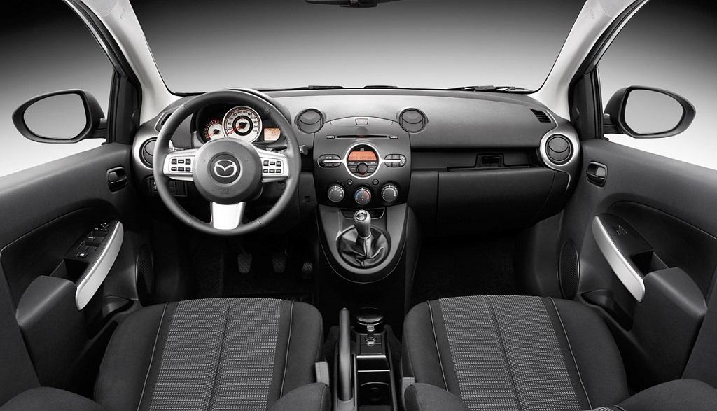 Mazda2 2007 interior