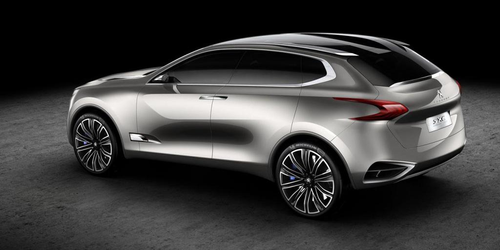 Peugeot SxC zaga