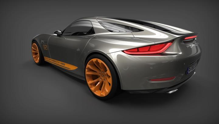 Porsche 921 vision concept design-3