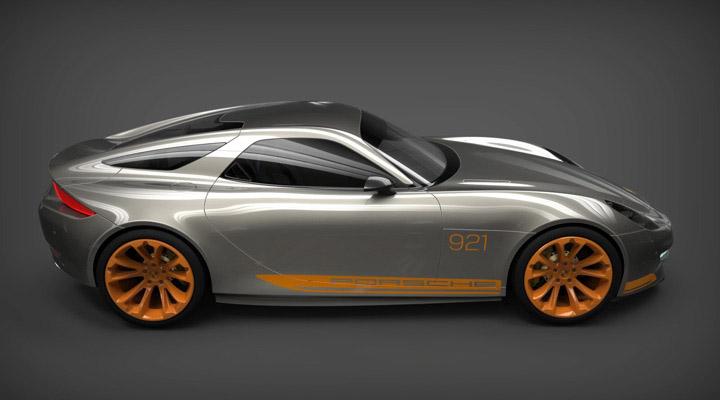 Porsche 921 vision concept design-4