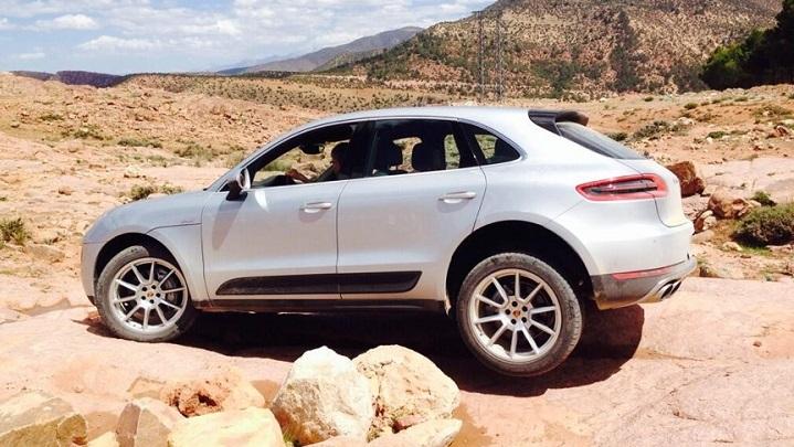 Porsche Macan en Marruecos