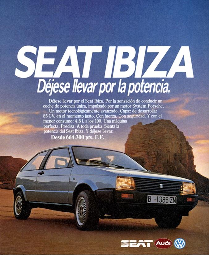 Publicidad Seat Ibiza I