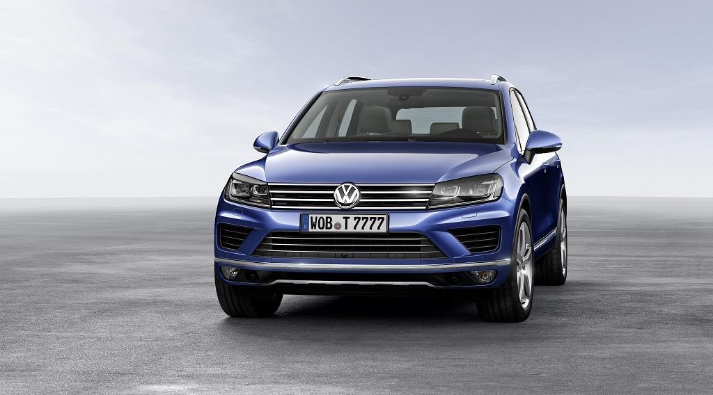 Volkswagen Touareg 2014 actualizacion