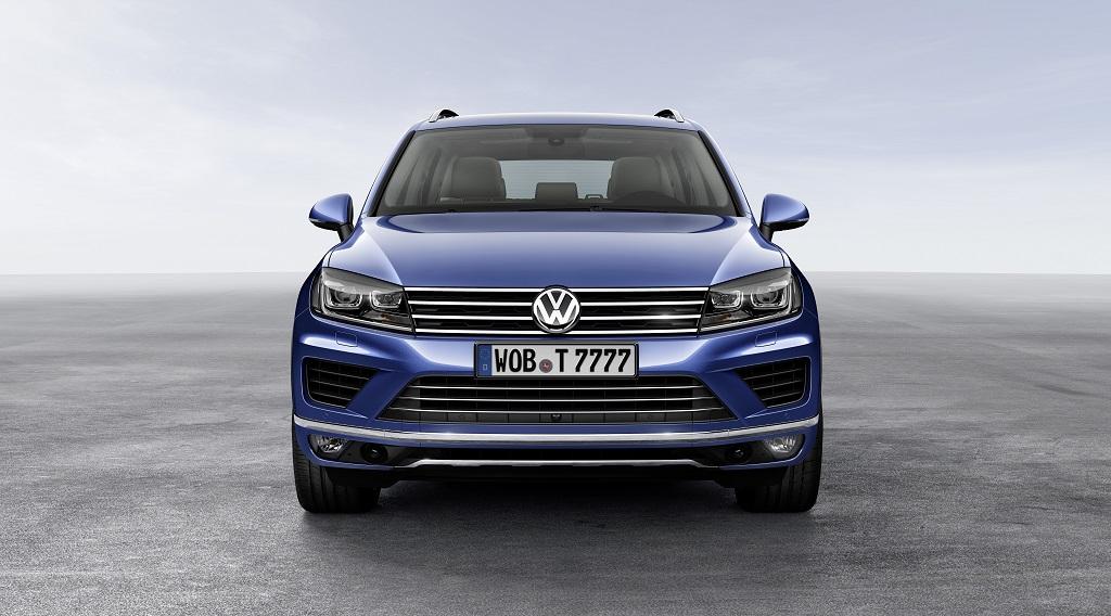 Volkswagen Touareg 2014 frontal