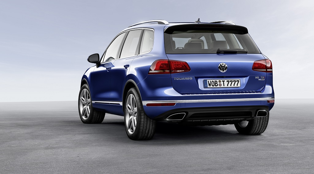 Volkswagen Touareg 2014 zaga