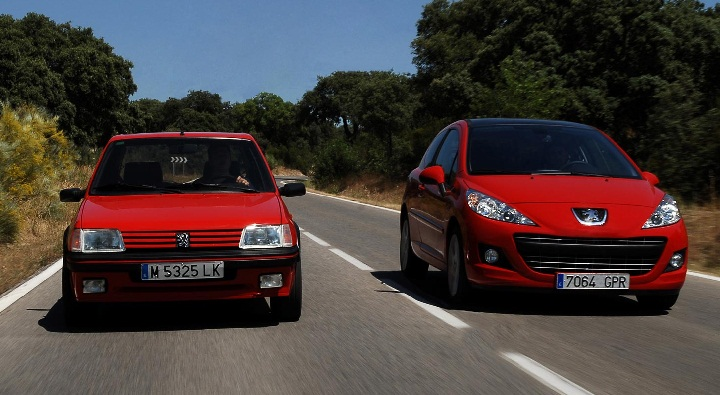Peugeot nuevo y Peugeot viejo