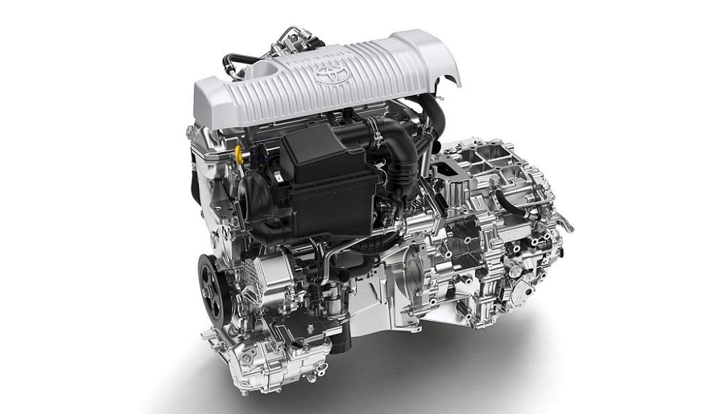 motor Yaris hibrido