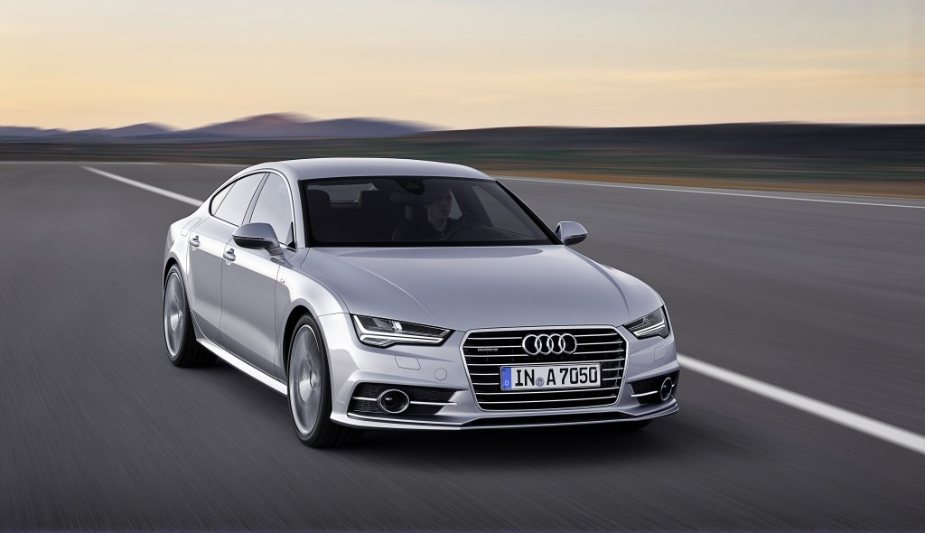 Audi A7 2014 frontal