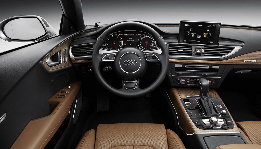 Audi A7 2014 habitaculo