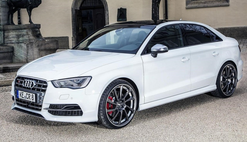Audi S3 Sedan por ABT frontal-lateral