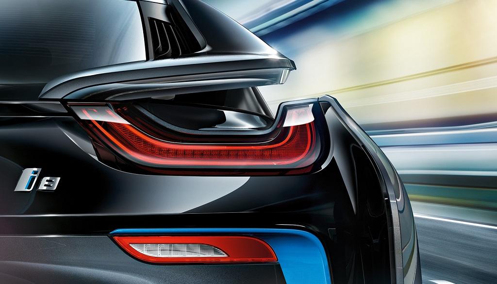 BMW i8 zaga