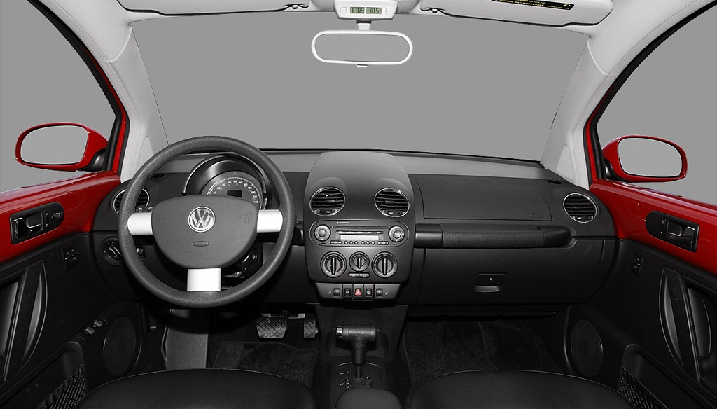 Beetle 2010 interior