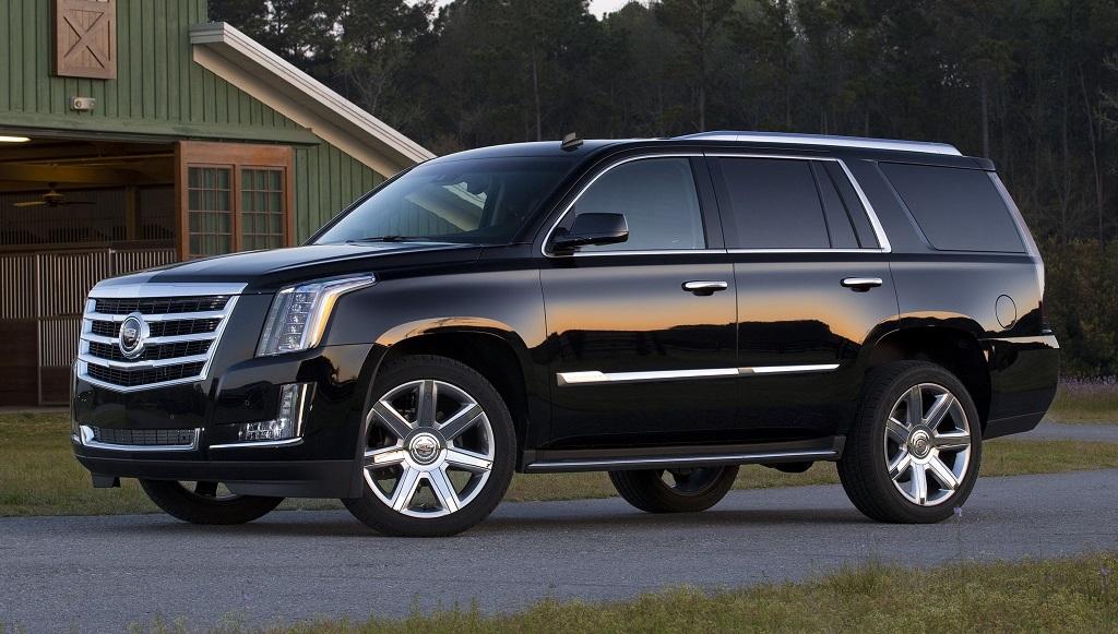 Cadillac Escalade 2015 negro
