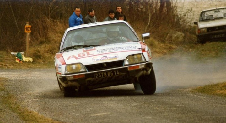 Citroën CX rally