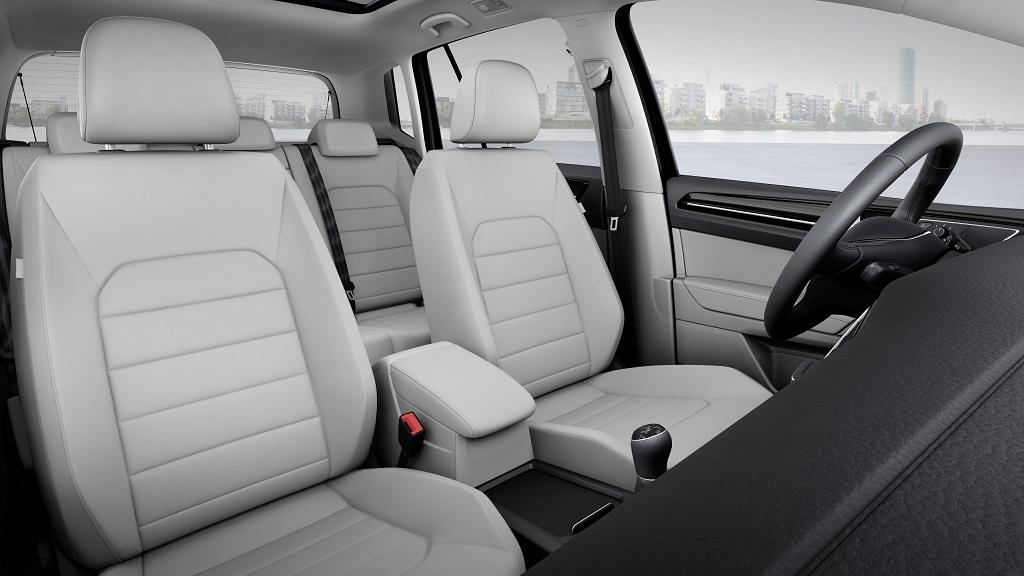 Golf Sportsvan asientos delanteros