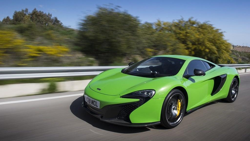 McLaren 650S verde acido 10
