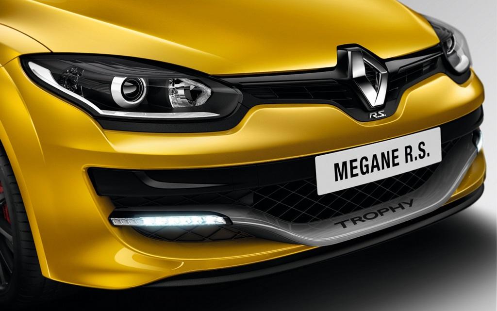 Megane RS 275 Trophy frontal