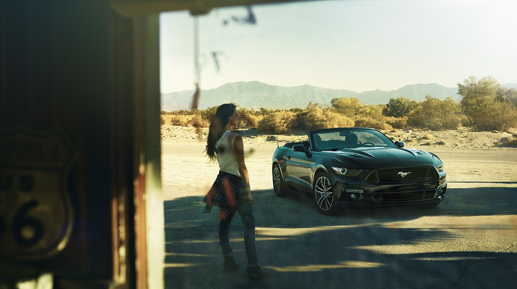 Mustang descapotable