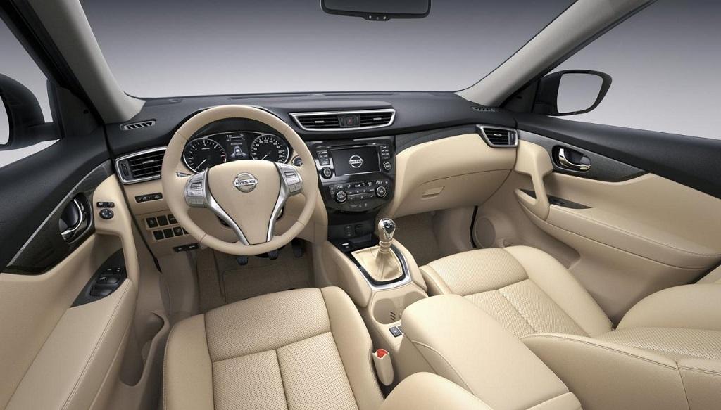 Nissan X-Trail 2014 interior beige