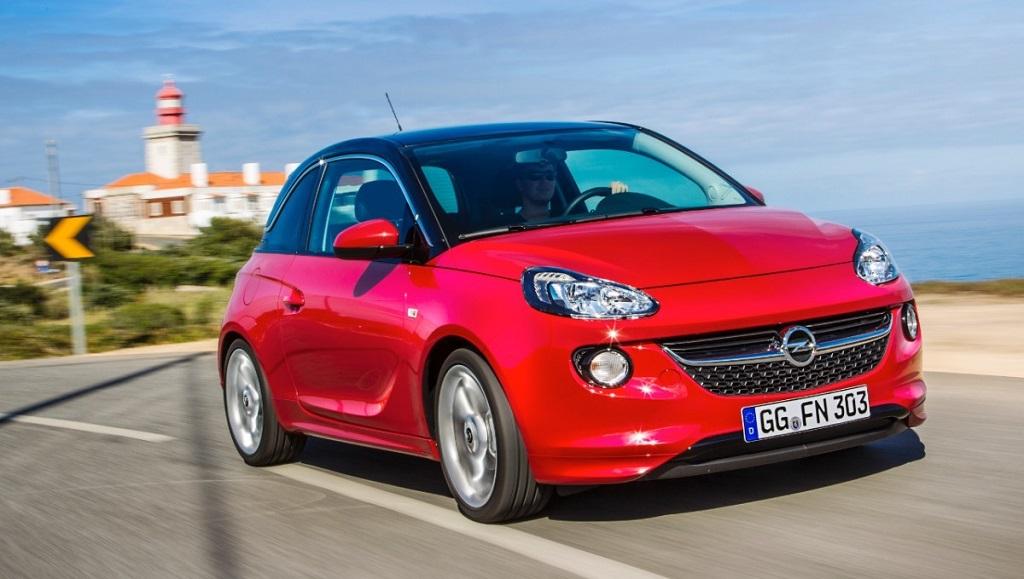 Opel Adam rojo