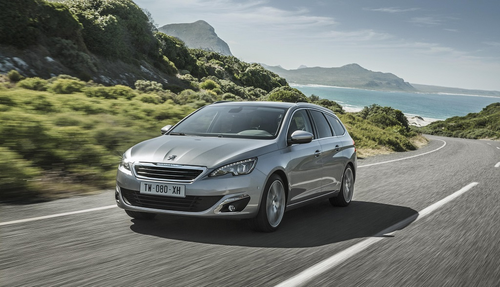 Peugeot 308 SW frontal