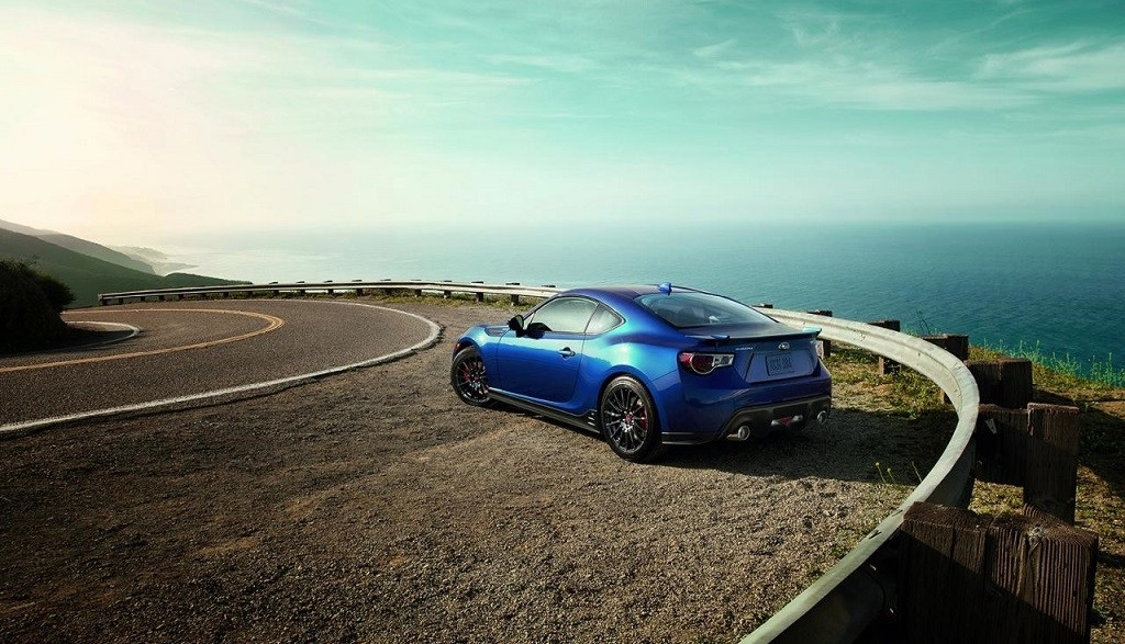 Subaru BRZ Series Blue 12