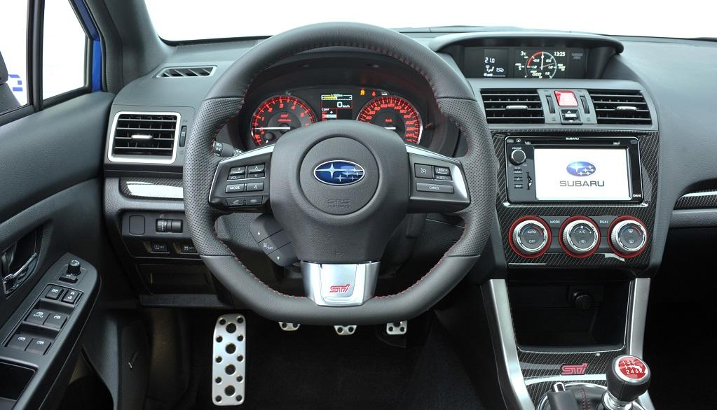 Subaru WRX STI interior