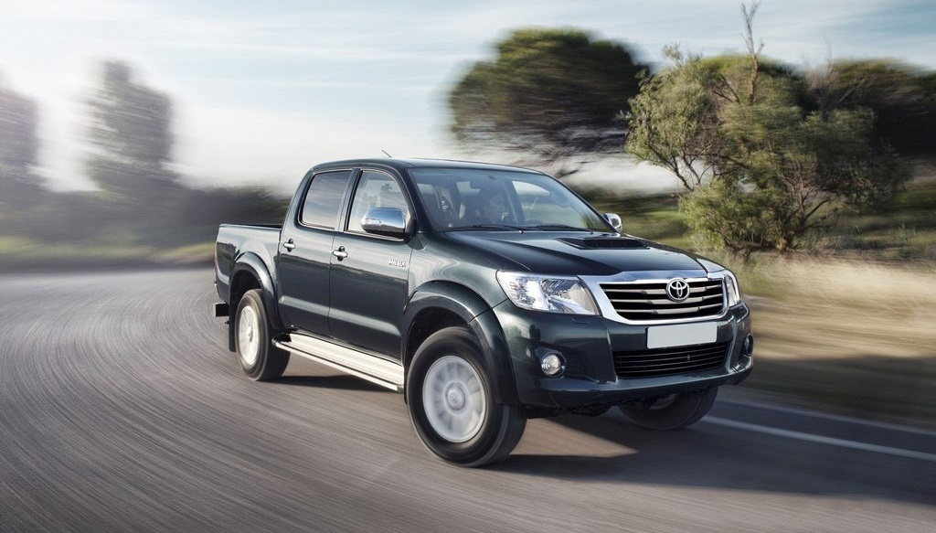 Toyota Hilux 2014 lateral