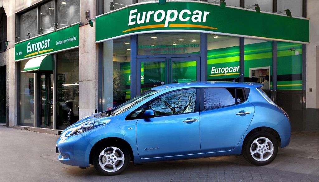 coche de alquiler Europcar