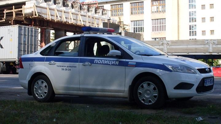 coche de policia ruso