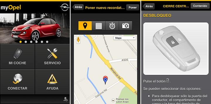 myOpel App 3