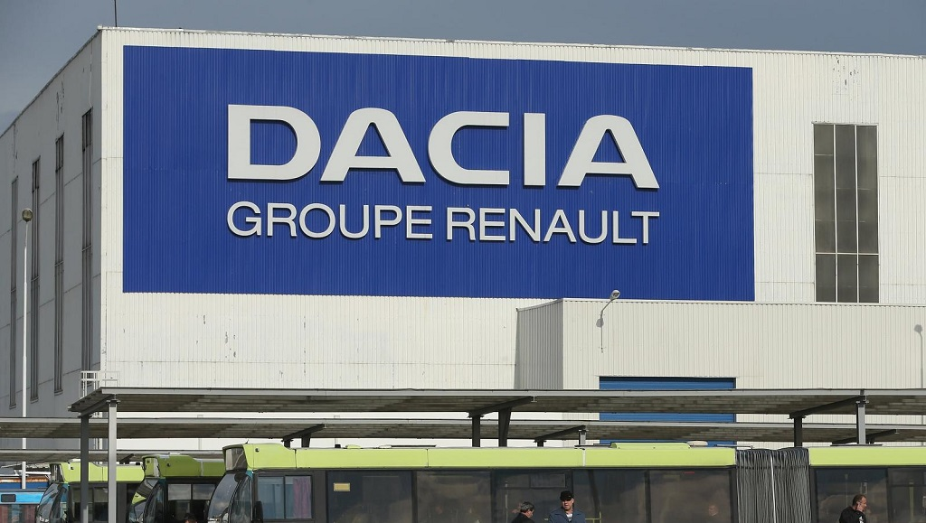 Dacia fabrica