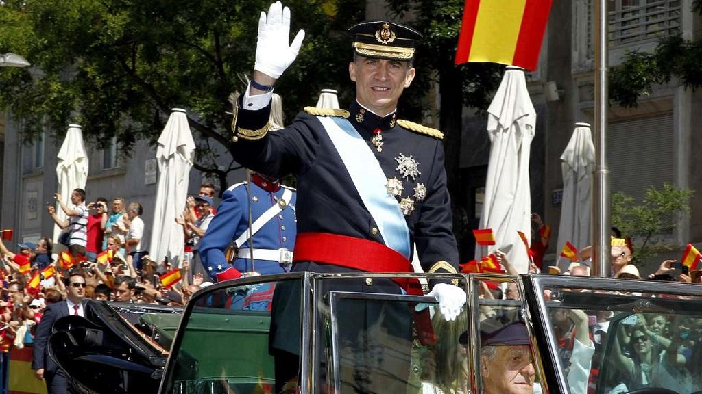 Felipe VI Rolls-Royce