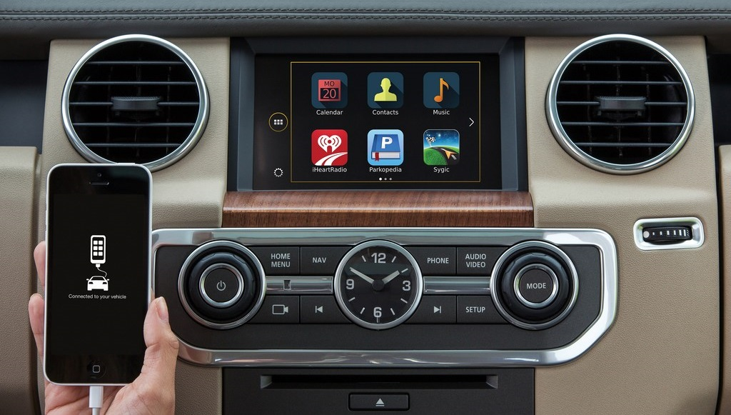 Land Rover Discovery 15MY apps