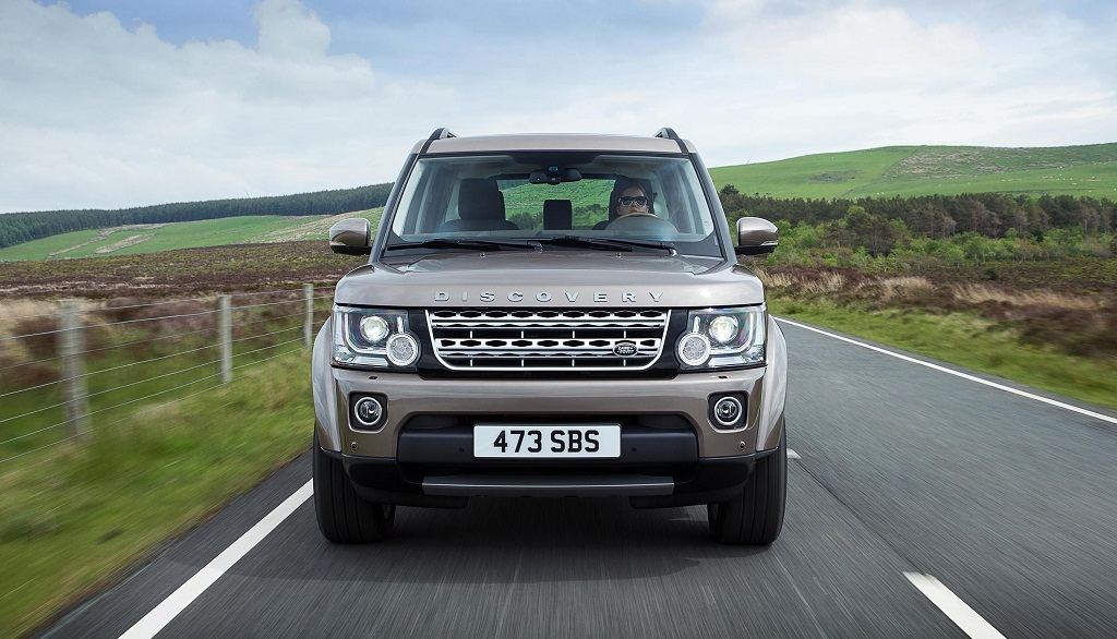 Land Rover Discovery 15MY frontal