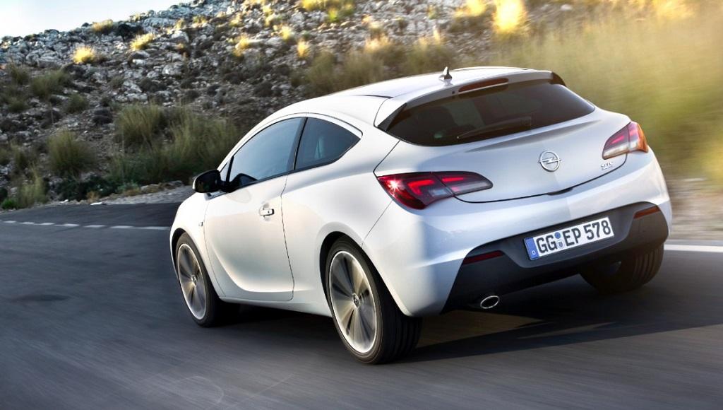 Opel Astra GTC zaga