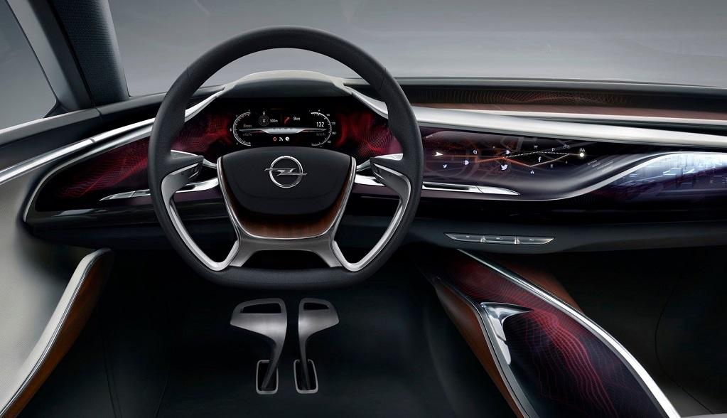Opel Monza interior