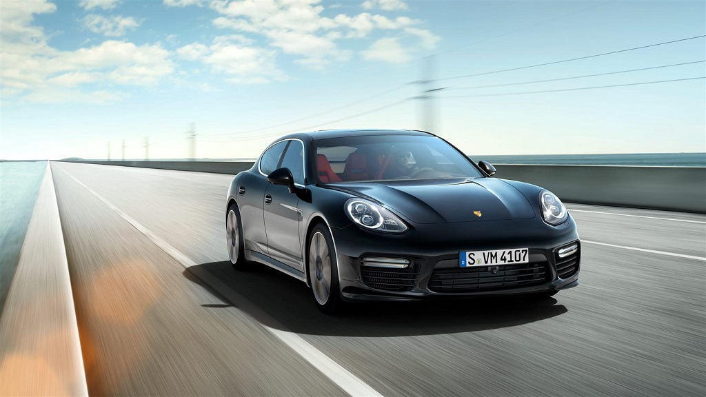 Porsche Panamera Turbo 2014