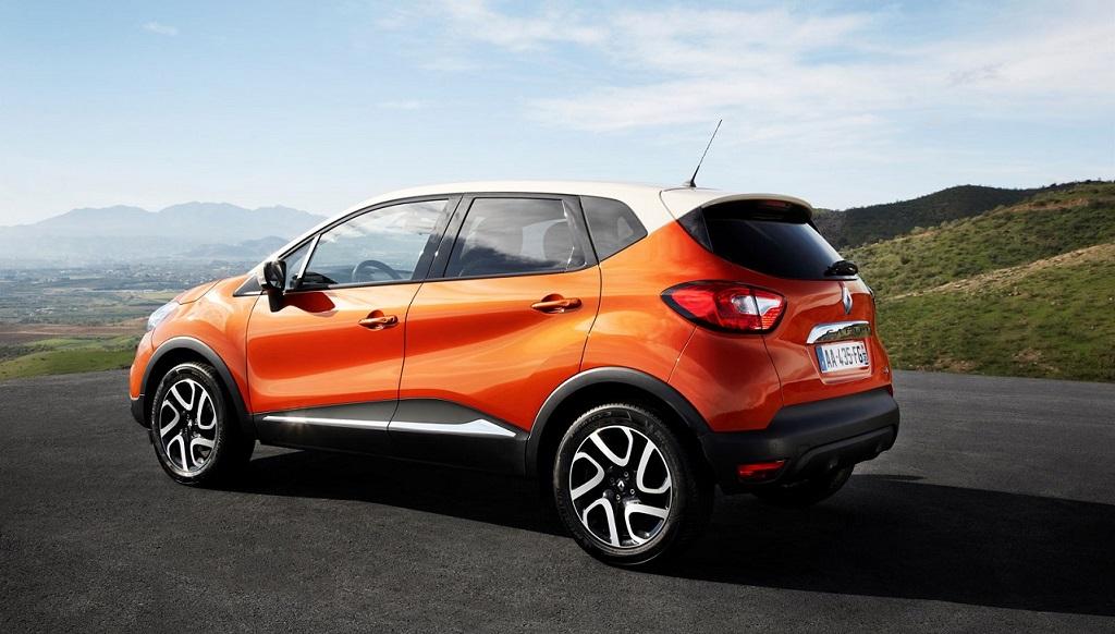 Renault Captur naranja