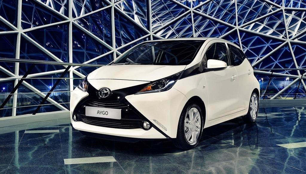 Toyota Aygo blanco