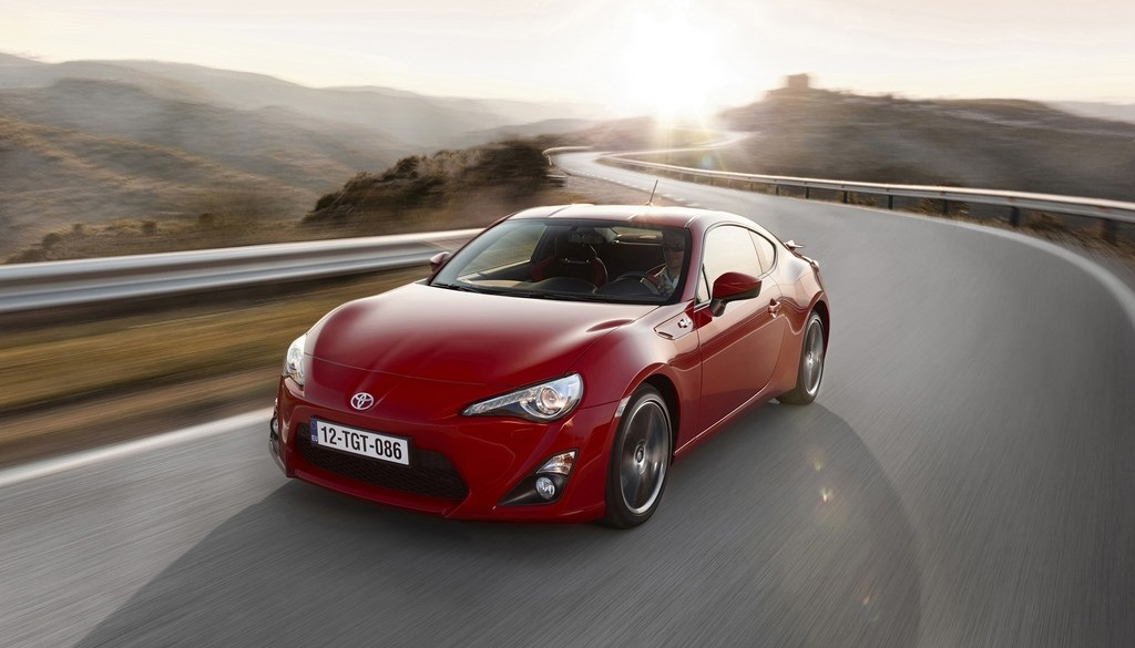Toyota GT86 frontal