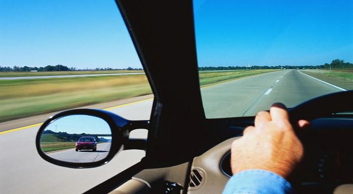 visibilidad en el coche