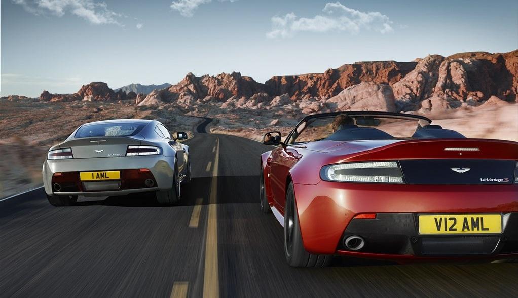 Aston Martin V12 Vantage S Roadster 2