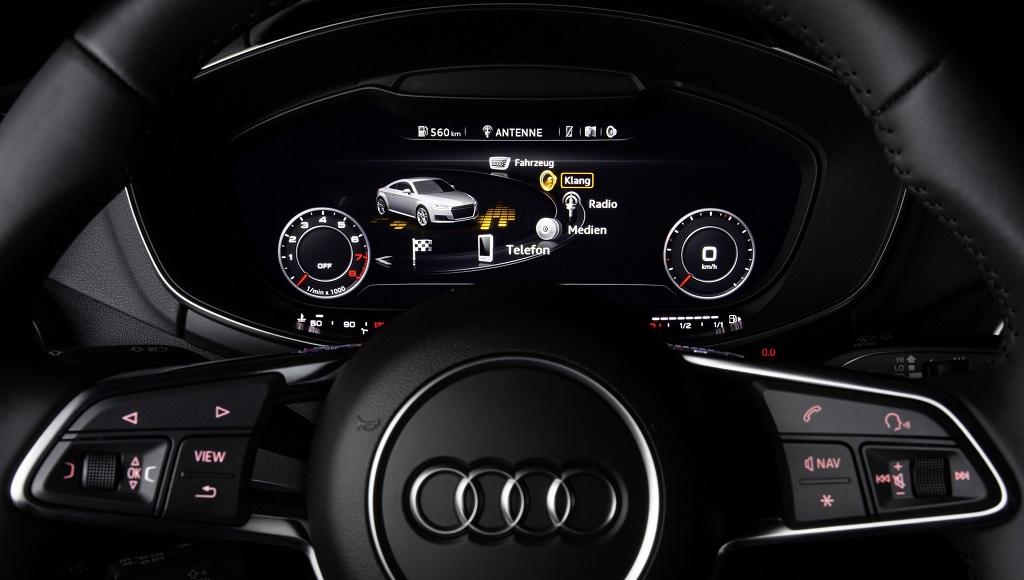 Audi TT sonido