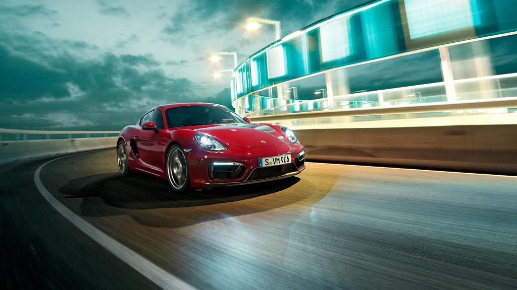 Porsche Cayman GTS rojo