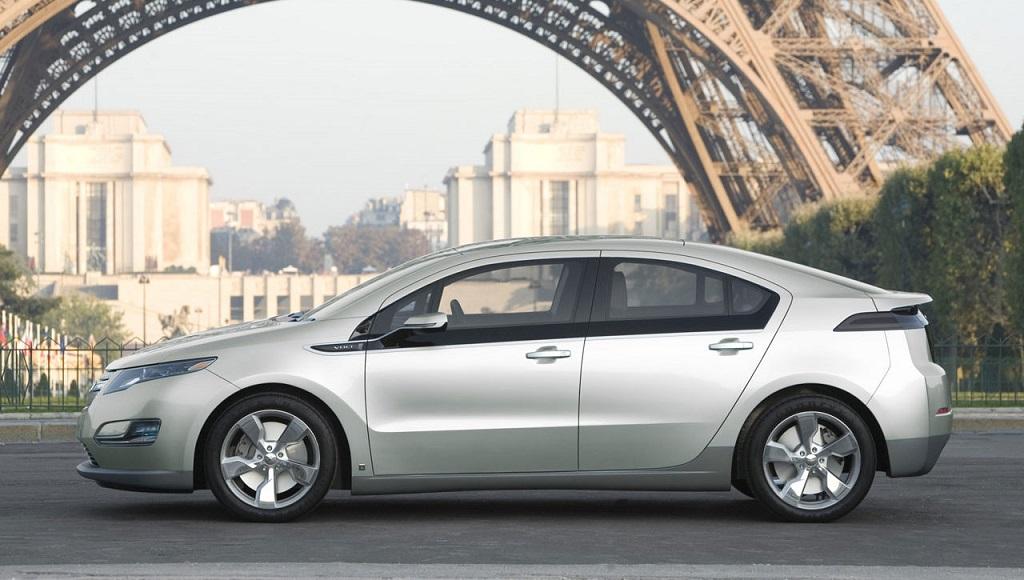 Chevrolet Volt Paris