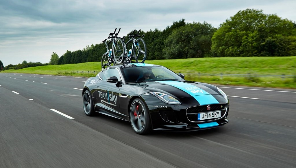 Jaguar F-Type Team Sky 11