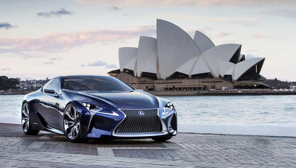 Lexus LF-LC Concept blue