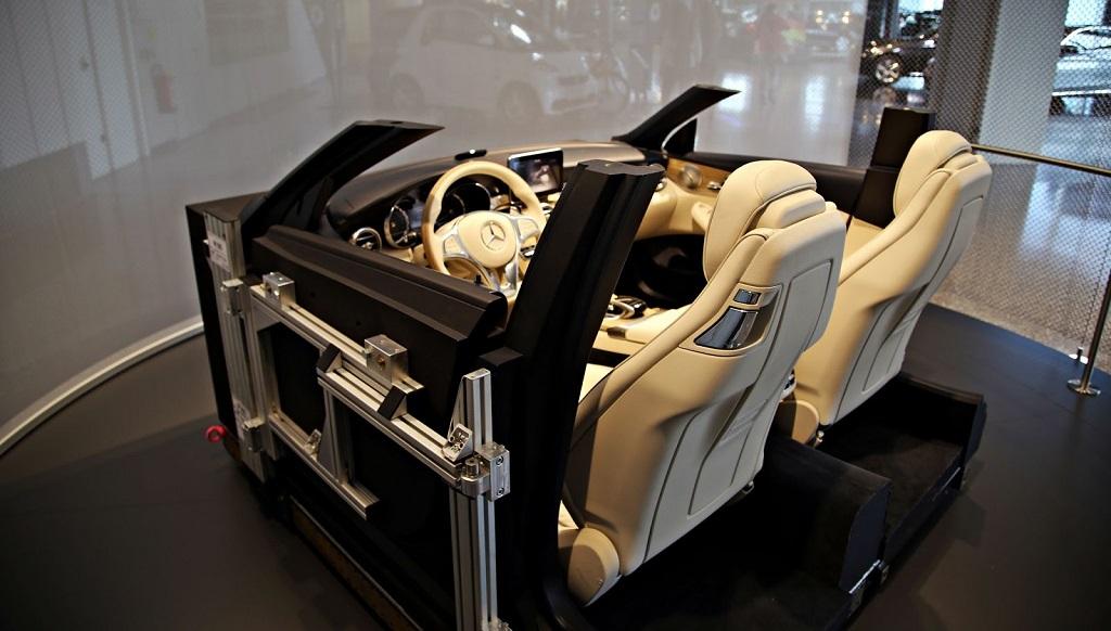 Mercedes-Benz Clase C Cabrio interior