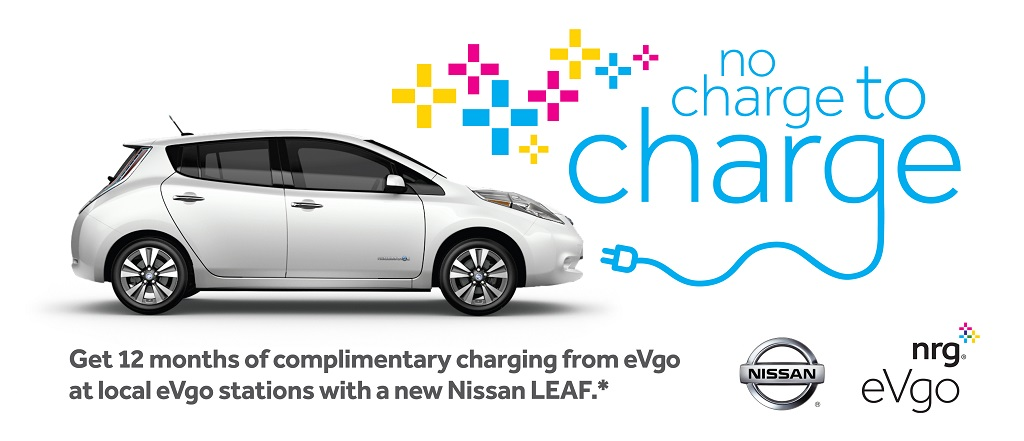 No charge to charge de Nissan